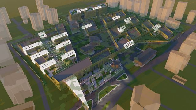 Architecture - Erenkoy Psychiatry Hospital Competition