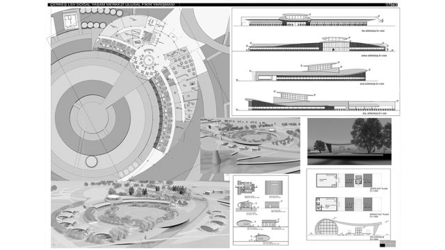 Architecture - LOSEV Cerkes Campus Competition