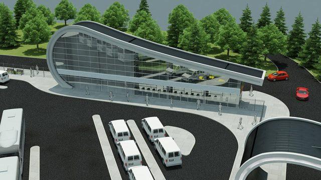 Architecture - TUBITAK MAM Gebze Entrance