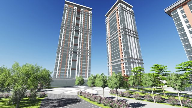 Dense Housing Residance Architecture - Balıkesir Yaşam Merkezi