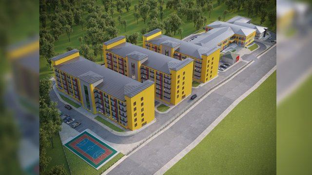Dormitory Architecture - Kirsehir Dormitory