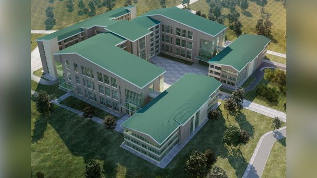 Education Building Architecture - Beytepe Gendarme Administration & Dormitory Buildings