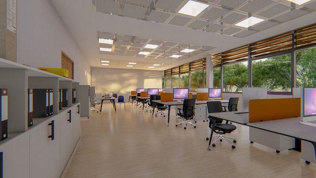 Endüstri Yapıları Mimarisi - Demir Export Laboratuvar ve Ofis Binası