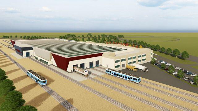 Endüstri Yapıları Mimarisi - TCDD Gaziantep YHT Bakım Onarım Atölyeleri