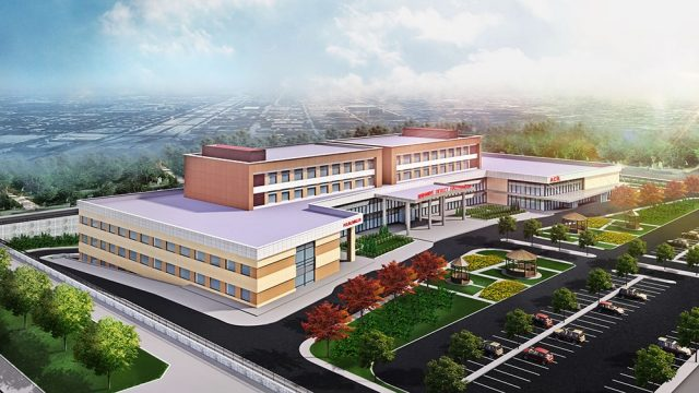 Health Building Architecture - Balıkesir Burhaniye General Hospital