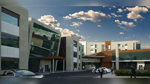 Health Building Architecture - Mersin Anamur General Hospital