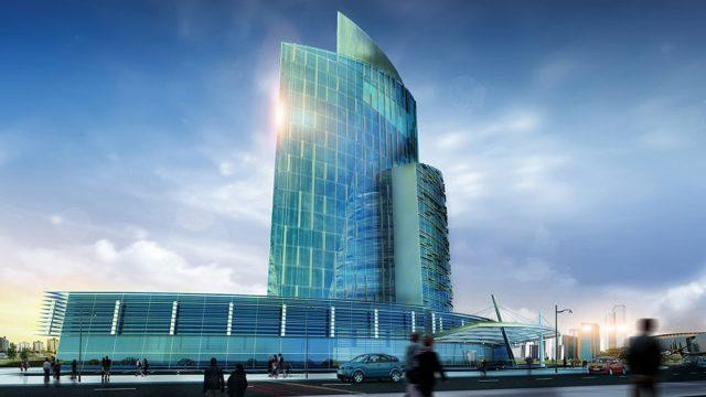 Hotel Architecture - Kaliningrad 5 Star Hotel