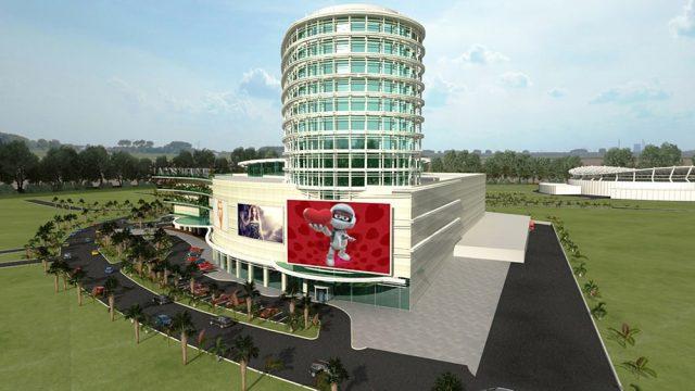 Hotel Architecture - Nigeria Lagos Theatre Mall Hotel