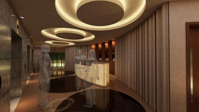 İç Mimari - Bağdat Rotana Otel