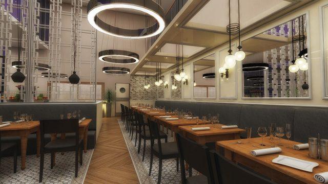 İç Mimari - Denizli Dedeman Park Otel Restoran