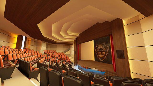 İç Mimari - İkem Koleji Konferans Salonu