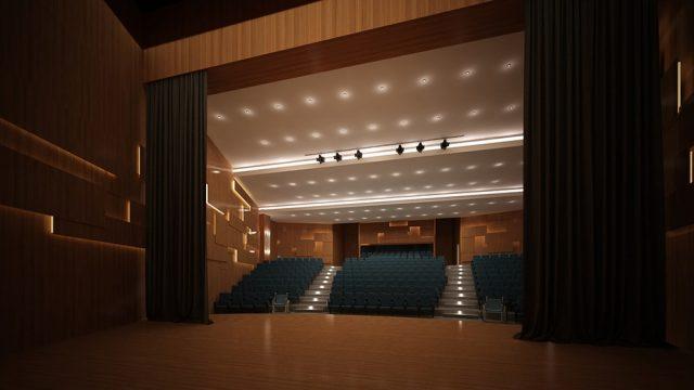 İç Mimari - Sakarya Karasu Kültür Merkezi