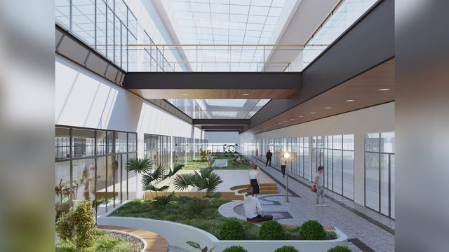Industrial Building Architecture - ASELSAN Akyurt Engineering Building
