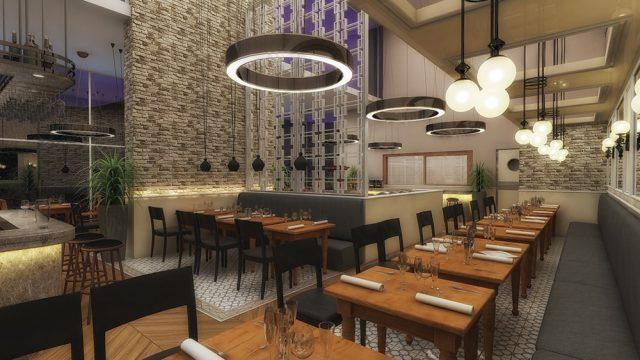 İç Mimari - Denizli Dedeman Park Hotel Restaurant