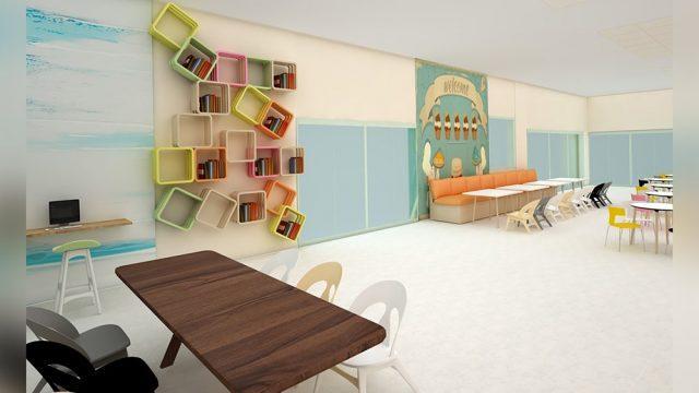Interior Design - Sevgi College Cafeteria