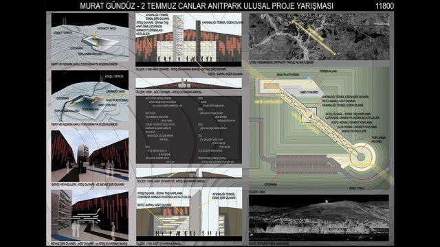Mimari - 2 Temmuz Canlar Anıtpark Yarışması