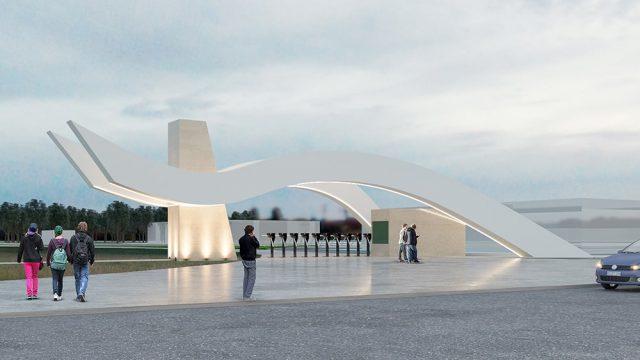 Mimari - Düzce Üniversitesi Konuralp Yerleşkesi Giriş Kapıları