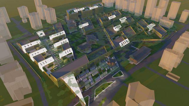 Mimari - Erenköy Ruh ve Sinir Hastalıkları Hastanesi Yarışması