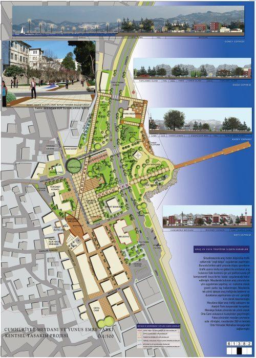 Mimari - Ünye Kentsel Tasarım Yarışması