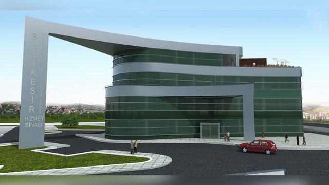 Office Architecture - Balikesir City Health Admin Building