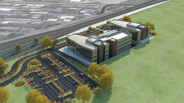 Office Architecture - Isparta City Health Admin Building