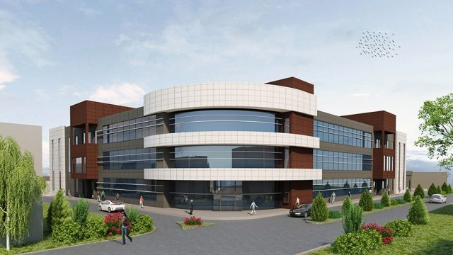 Office Architecture - Nevsehir Health Service Building