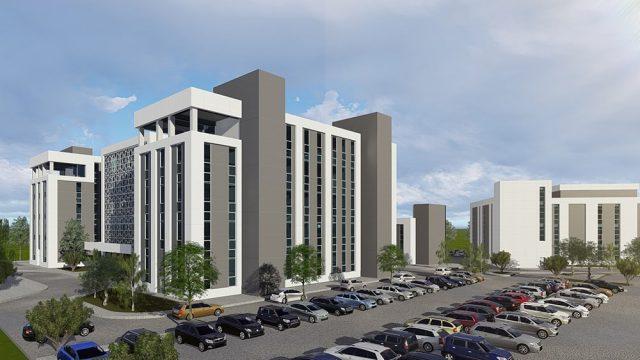Office Architecture - Osmaniye Health Service Building
