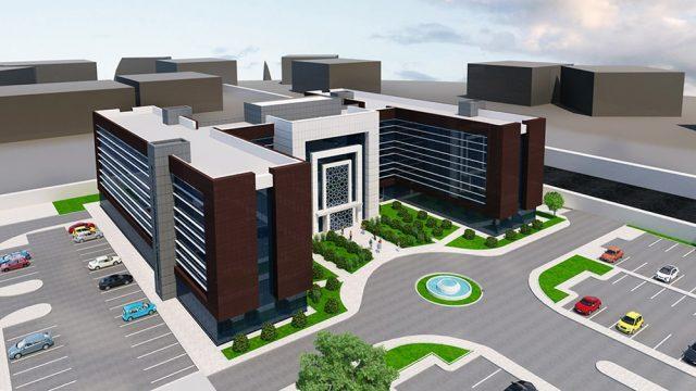 Ofis Mimarisi - Konya İl Sağlık Hizmet Binası
