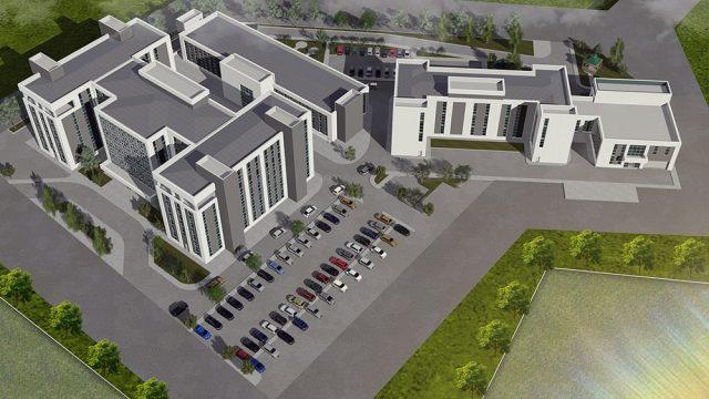 Ofis Mimarisi - Osmaniye İl Sağlık Hizmet Binası