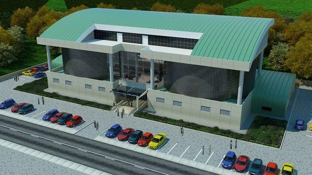Ofis Mimarisi - TCDD Kumanda Merkezi Afyon