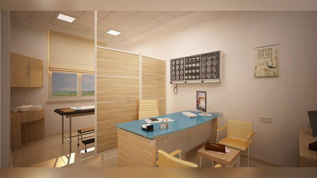 Sağlık Yapıları Mimarisi - Afyon Dinar Devlet Hastanesi