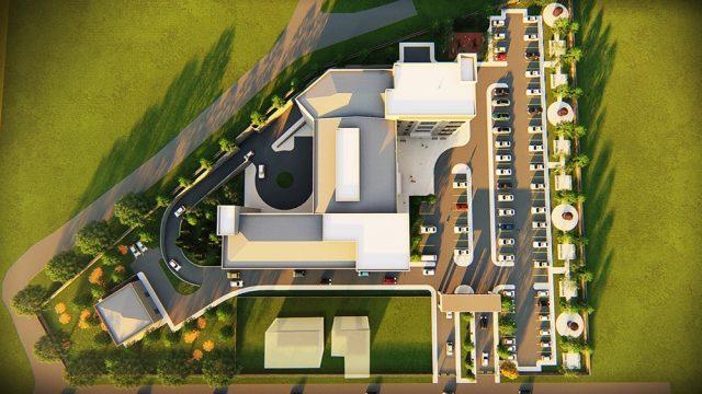 Sağlık Yapıları Mimarisi - Antalya Konyaaltı Ağız ve Diş Sağlığı Merkezi