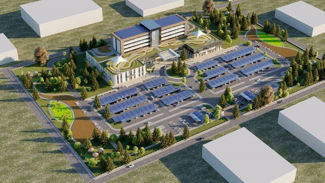 Sağlık Yapıları Mimarisi - Gana Akra Hastanesi