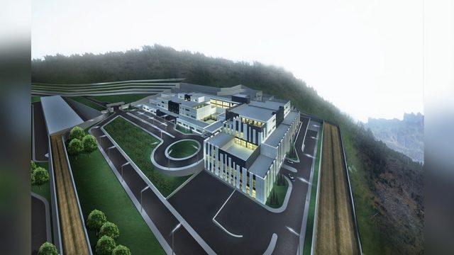 Sağlık Yapıları Mimarisi - İzmir Bayraklı YGAP Hastanesi