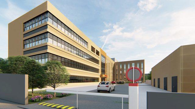 Sağlık Yapıları Mimarisi - İzmir Buca Ağız ve Diş Sağlığı Merkezi
