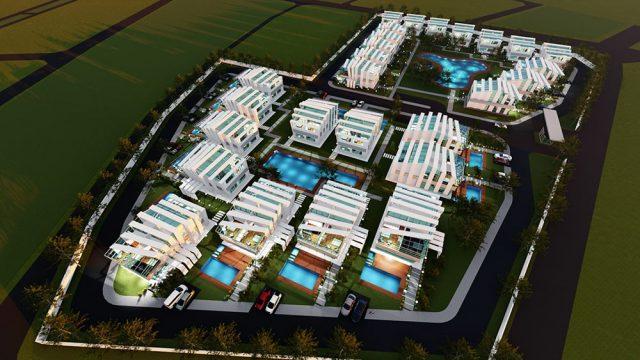 Site - Toplu Konut - Ev Mimarisi - Maicity Villa