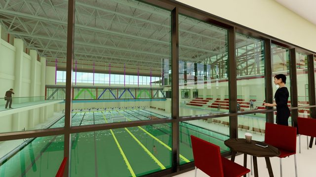 Sport Facilities Architecture - Gozo Swimming Pool