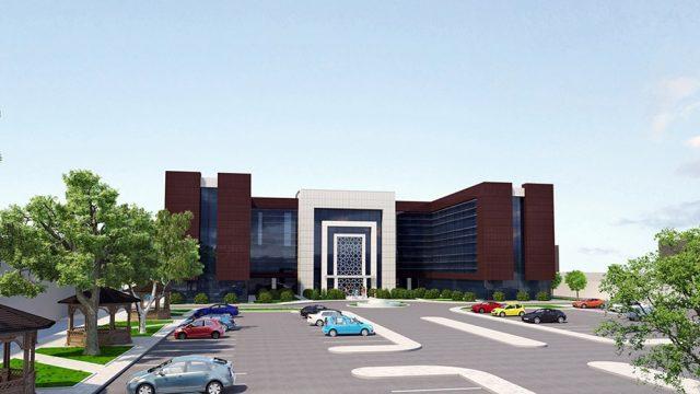 Office Architecture - Konya Health Service Building