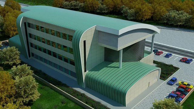 Office Architecture - TCDD Command Center Afyon
