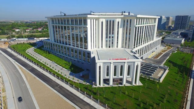 Ofis Mimarisi - Türkiye Sağlık Bakanlığı Binası