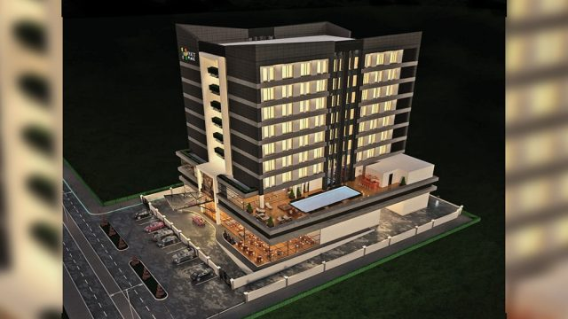 Otel Mimarisi - Nijerya Temple Road Hyatt Place Otel