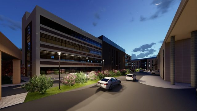 Sağlık Yapıları Mimarisi - Aydın Nazilli Ağız ve Diş Sağlığı Merkezi
