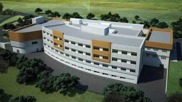 Sağlık Yapıları Mimarisi - Kütahya Gediz Devlet Hastanesi
