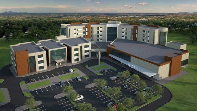Sağlık Yapıları Mimarisi - Mersin Anamur Devlet Hastanesi